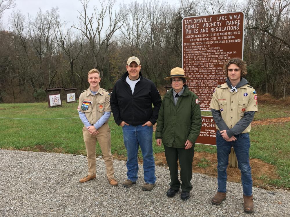 Archery Ranges Open On Taylorsville Lake Wildlife Management Area